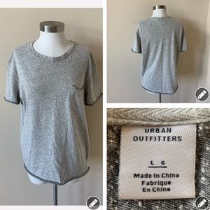 Urban outfitters marl pocket tee #6091